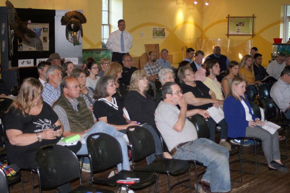 Public hearing at ECO Center
