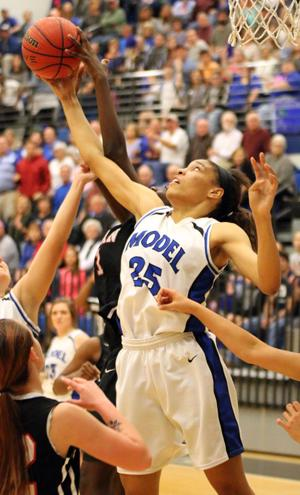 GIRLS BASKETBALL: Model survives to beat Bryan County 62-45; earns trip to Final Four
