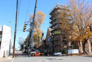 St. Peter's Episcopal Church getting a new roof