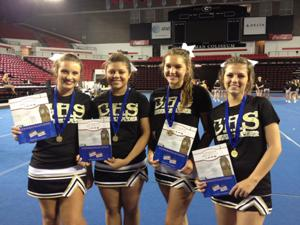 Calhoun All-American Cheerleaders