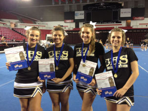 Calhoun All-American Cheerleaders