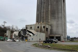 <p>Damage is widespread Tuesday, Feb. 9, 2016, following an explosion at JCG Farms Feed Mill in Rockmart. (Kevin Myrick/SJ)</p>
