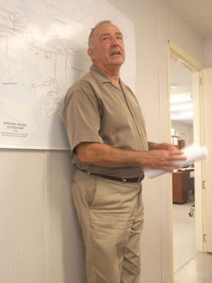 <p>At the Utilities Board of the Town of Cedar Bluff meeting Aug. 19, Herb Sherwin gave a report from ADEM with the hope of improving operations.</p>