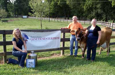 Berry shipping cattle embryos to South America