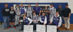 WRESTLING: Darlington takes 3rd at Arab Invitational