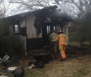 Family dog dies in outbuilding fire on Davis Road