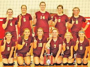 Class 1A, Area 14 Volleyball Tournament Champions