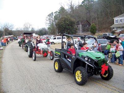 Rock Run Christmas Parade 2013