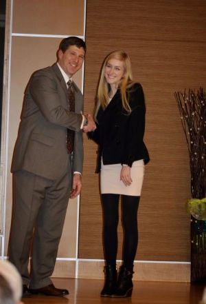 Darlington junior recognized for servant leadership at Gordon County Volunteer Banquet