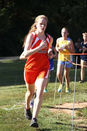 CROSS COUNTRY: Walker runners brave the heat in season's first league race