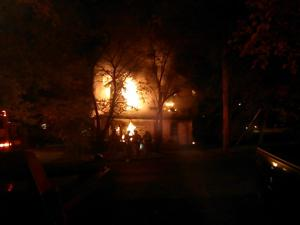 Early morning fire damages Lindale house