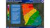 Deep South under severe weather threat through Wednesday