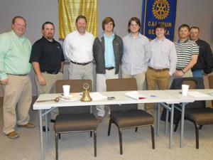 CHS baseball speaks to Rotary