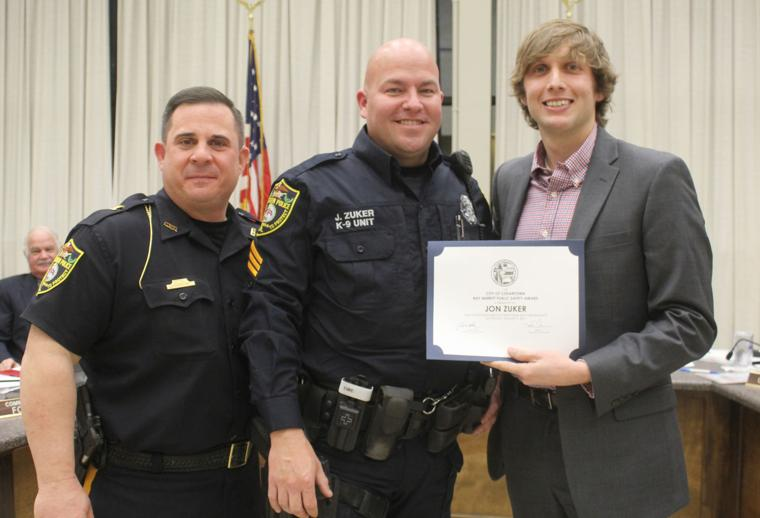 Sgt. John Zuker public safety award