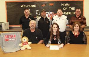 SOFTBALL: O'Shields to suit up for Bryan College