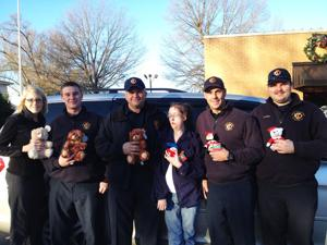 Brittany's Bears makes donations to local public agencies