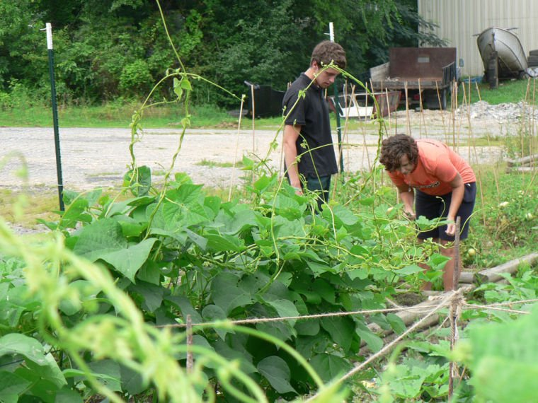 Action Ministries' food pantry, community garden