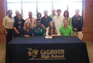 College Signing: Calhoun's Wright signs with Thomas University