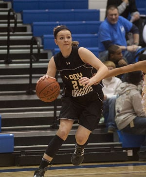 Holiday Tourney: Lady Dragons down Rome, 65-40, advance to semis