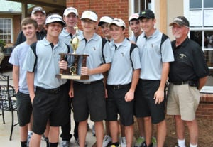 Yellow Jackets place second