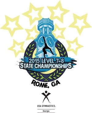 Rome Aerials Gymnastics will host 2015 Georgia USAG Level 7 and 8 State Championship meet