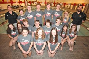 Swimming Rome High Team State Qualifiers