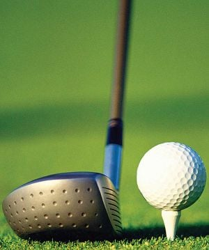 GOLF: Streb shoots 63, joins Walker in lead at PGA Championship