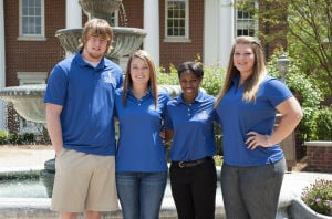 Shorter University Student Alumni Association officers named for 2014-15 year