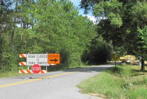 <p>Detours have been setup to get around road construction being done on Lake Creek Road to replace culverts. </p>