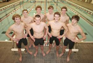 Rome High Swimming Boys State Qualifiers