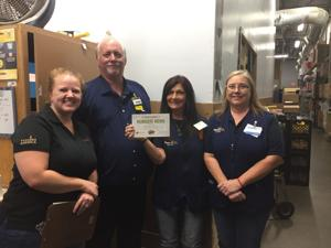 Local Wal-Mart provides meals through area food bank
