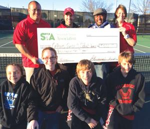 Sonoraville receives Sequoyah Tennis Association donation