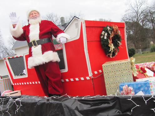 Rockmart Christmas Parade