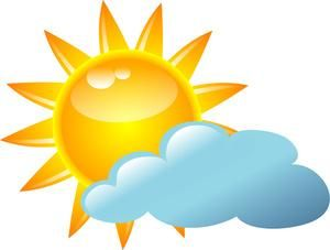 Thursday's weather: Partly sunny, high near 81
