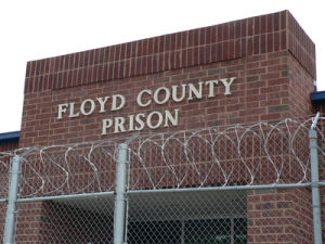 Department of Corrections and Floyd County Prison re-entry initiative