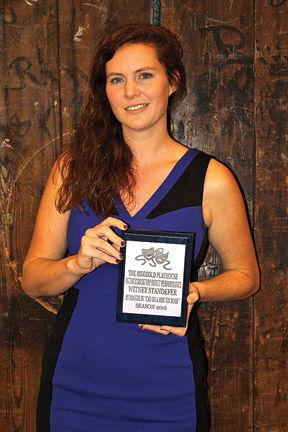 Whitney Standefer wins award