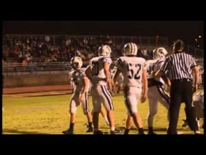 Darlington pounds Gordon Lee, 31-0