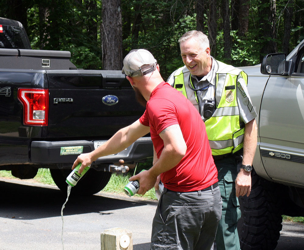 Dnr conducts alcohol water safety checks at rocky for Ga dnr fishing