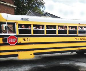 Polk students make museum visit for field trip