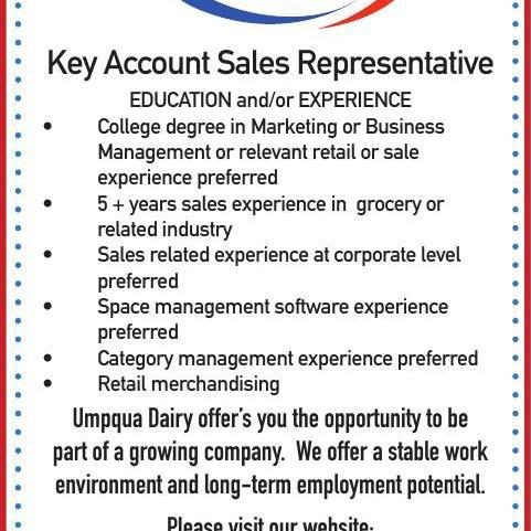 Key Account Sales Representative