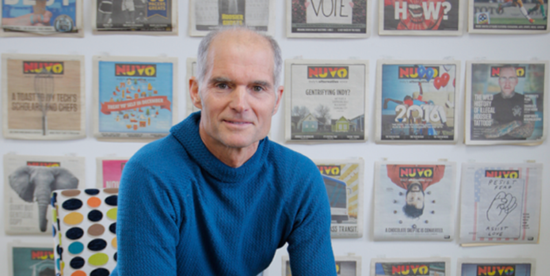 Kevin McKinney, founder and publisher of NUVO