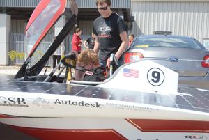 Solar car team expresses thanks