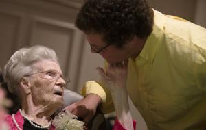 Eula Prophitt Turns 110 Years Old 01