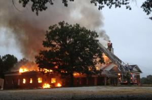 Trinity Presbyterian Church Fire