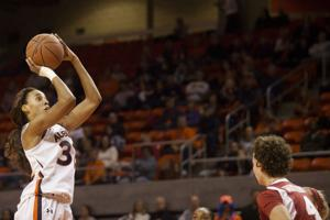 Auburn women's basketball Tyrese Tanner Arkansas