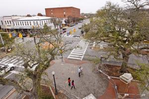 Toomers Oaks recovery process with airial views