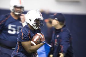 Auburn Football Practice 12