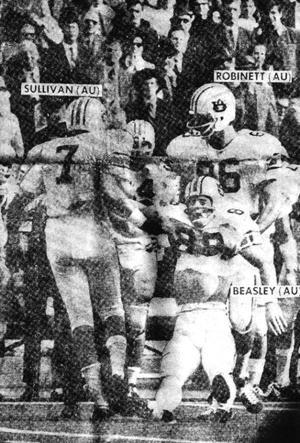 1970 Iron Bowl Terry Beasley