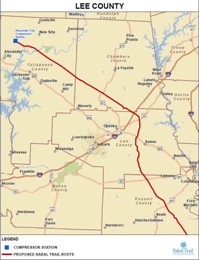 FERC Approves Transco Pipeline Project in Alabama