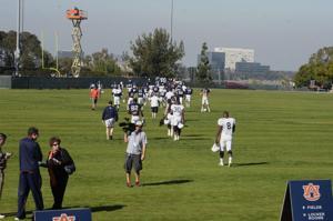 Auburn BCS practice